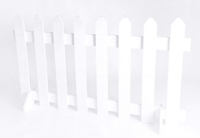 Singapore White Picket Fences