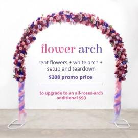 Artificial Flower Arch