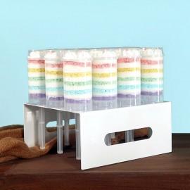 Rainbow Push Pop Display Stand
