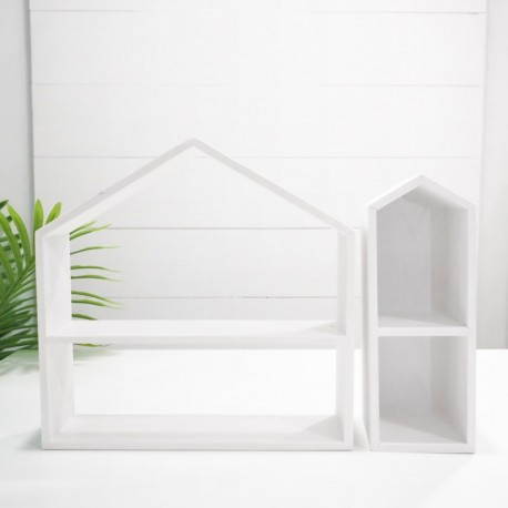 White Wooden Dessert Display Stands