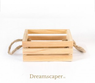 Small Wooden Box Riser