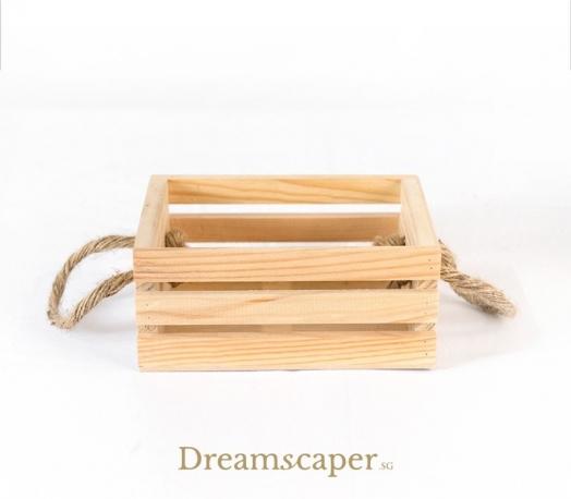 Small Wooden Box Riser