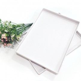 Rent: White Dessert Tray (set of 2)