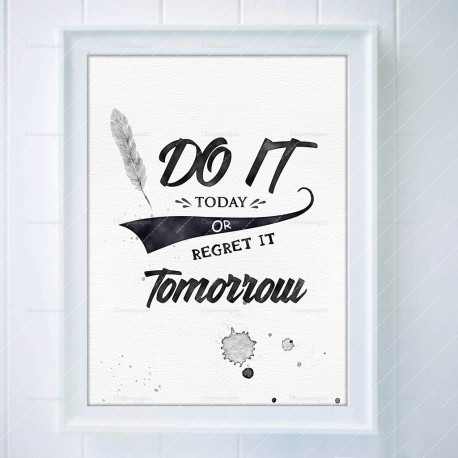 Motivational Quote Print