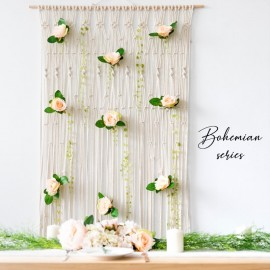 Rent: Bohemian Macrame Wedding Backdrop