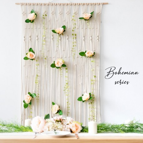 Macrame Bohemian Wedding Backdrop