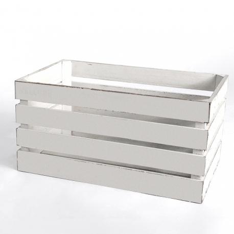 White Wooden Crates Rental