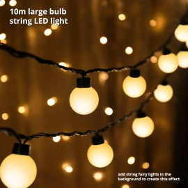 Large Bulb Fairy Light Rental
