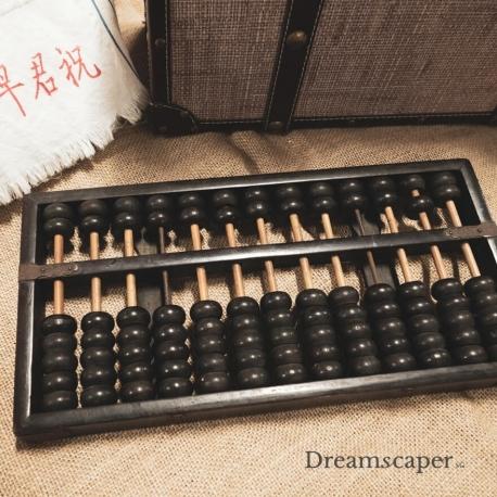 Vintage Wooden Abacus Rental