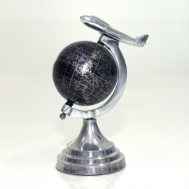 Mini Globe With Airplane