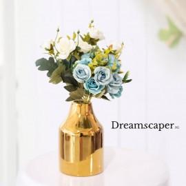 Rent: Light Blue Rose Bouquet (small)