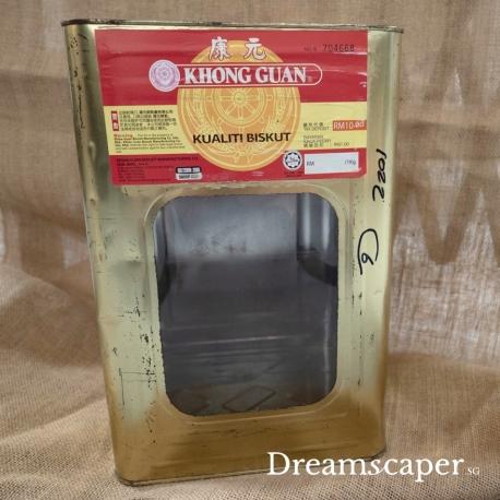 Khong Guan Biscuit Metal Tin