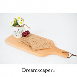 Solid Wood Flat Plate / Bread Tray
