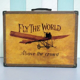 Fly The World Travel Luggage