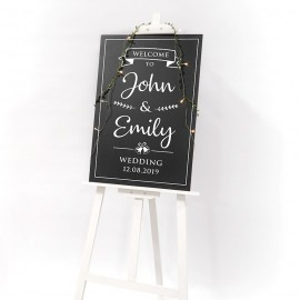 Buy: Wedding Welcome Sign Decal Style A