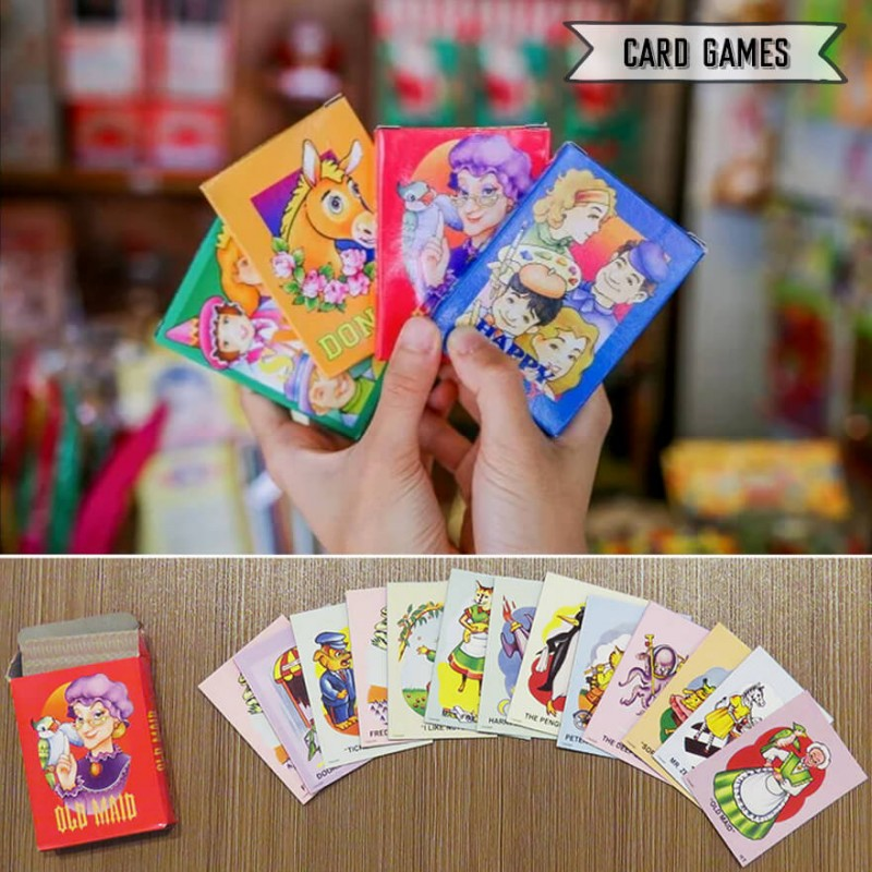 Singapore School Card Games - Donnkey, Old Maid, Snap
