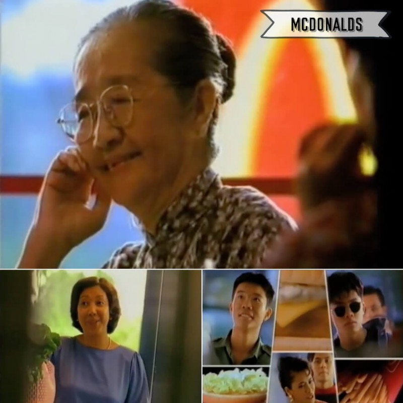 Singapore Old School TV Commercial - Mcdonalds