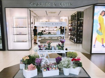 Charles & Keith x Windflower Florist x Dreamscaper.sg