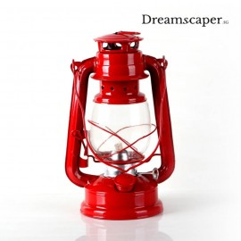 Retro Red Hurricane Lantern Kerosene Lamp