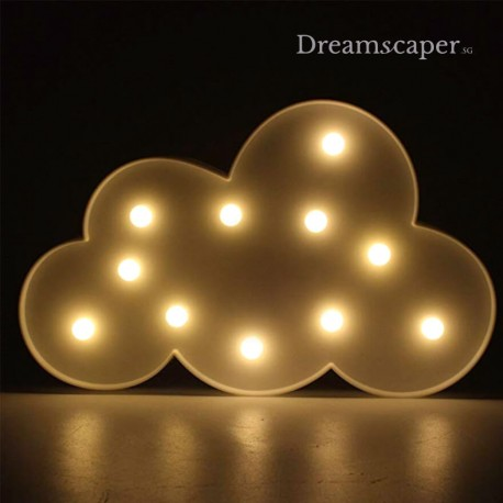 White Cloud LED Marquee Light Singapore