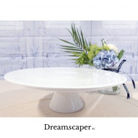 Rent: Large White Cake Stand (13 Inch)
