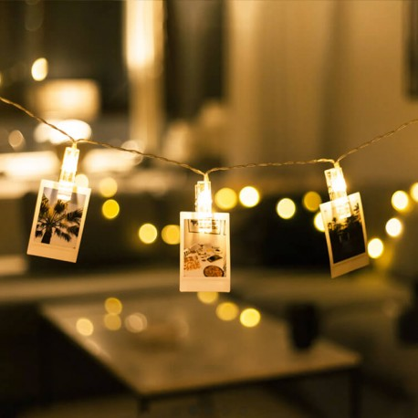 Photo Clip LED String Light Rental