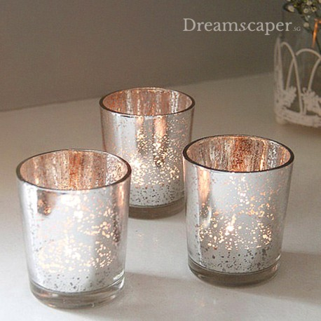 Rose Gold Mercury Jars Singapore