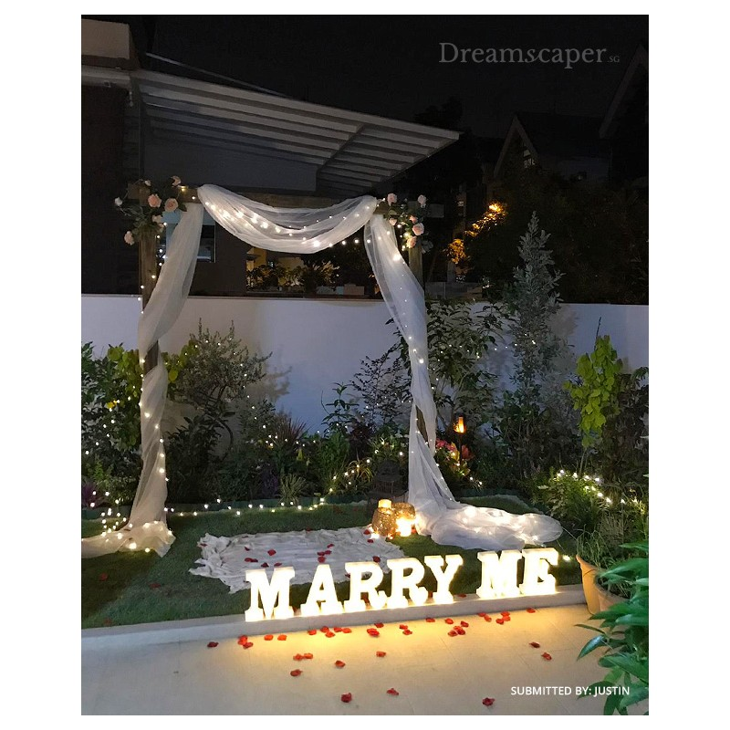 Our Client Marriage Proposal in Singapore
