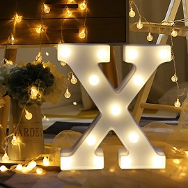 Marquee LED Light Letter X