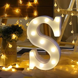 Marquee LED Light Letter S