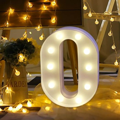 Marquee LED Light Letter O