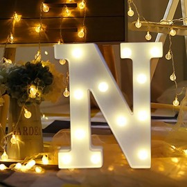 Marquee LED Light Letter N