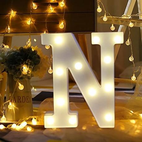 Marquee LED Light Letter N