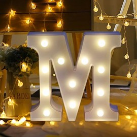 Marquee LED Light Letter M