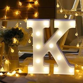 Marquee LED Light Letter K
