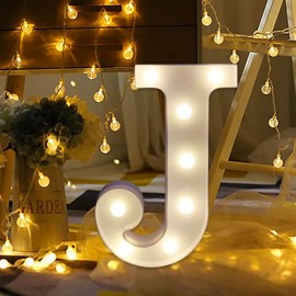 Rent: Alphabet Marquee Light Letter J