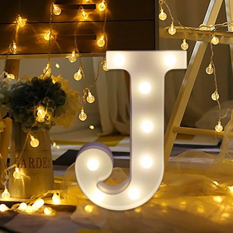 Rent: Alphabet Marquee Light Letter J
