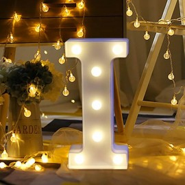Marquee LED Light Letter I