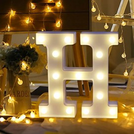Marquee LED Light Letter H