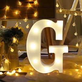 Marquee LED Light Letter G