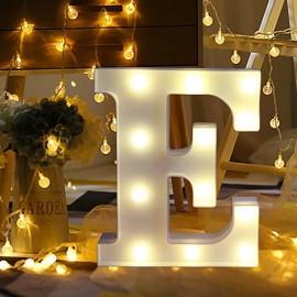 Marquee LED Light Letter E