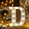 Rent: Alphabet Marquee Light Letter D