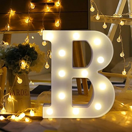 Marquee LED Light Letter B