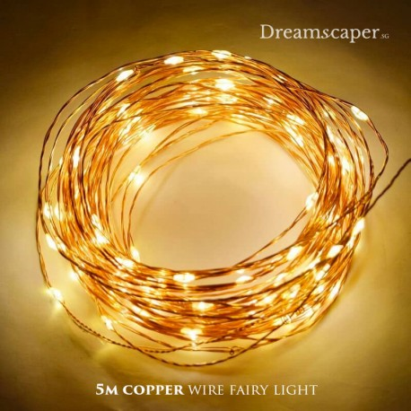 Copper Wire Fairy Lights Rental Singapore