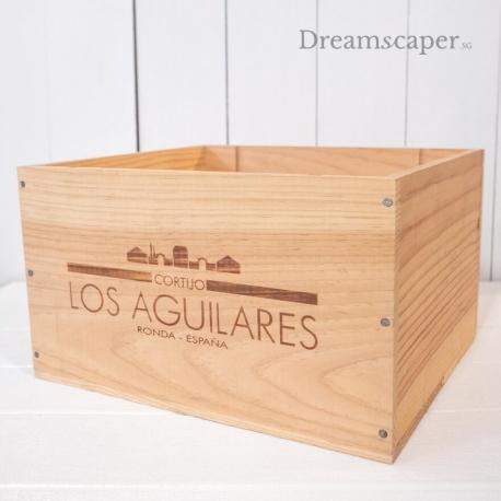 Singapore Wooden Wine Crates