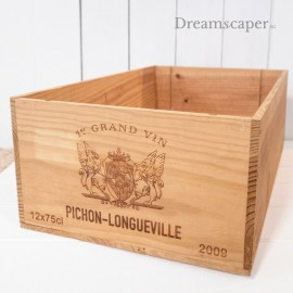 Singapore Wooden Wine Crates