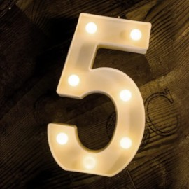 LED Marquee Light Number 5