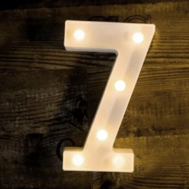 LED Marquee Light Number 7
