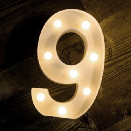 LED Marquee Light Number 9