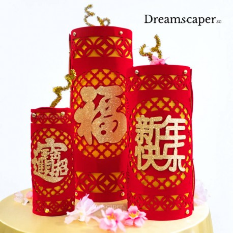 Firecrackers new year party decor rental
